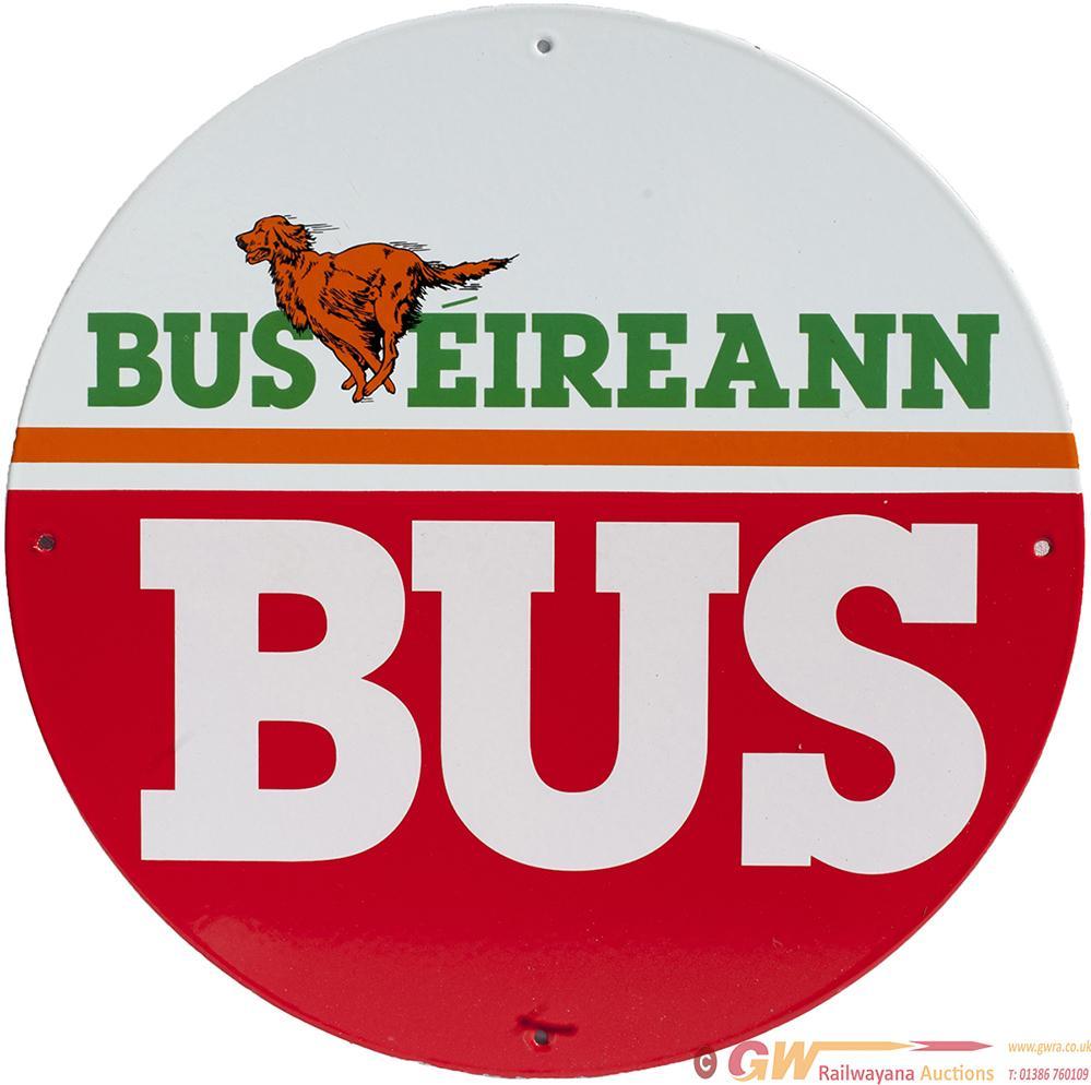 Motoring Bus Enamel BUS EIREANN BUS With Image Of