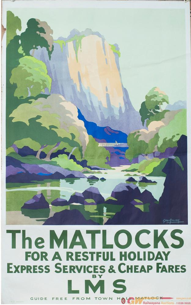 Poster LMS THE MATLOCKS FOR A RESTFUL HOLIDAY By