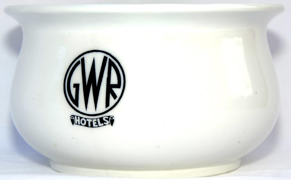 GWR Hotels Chamber Pot By Mintons, England, 9