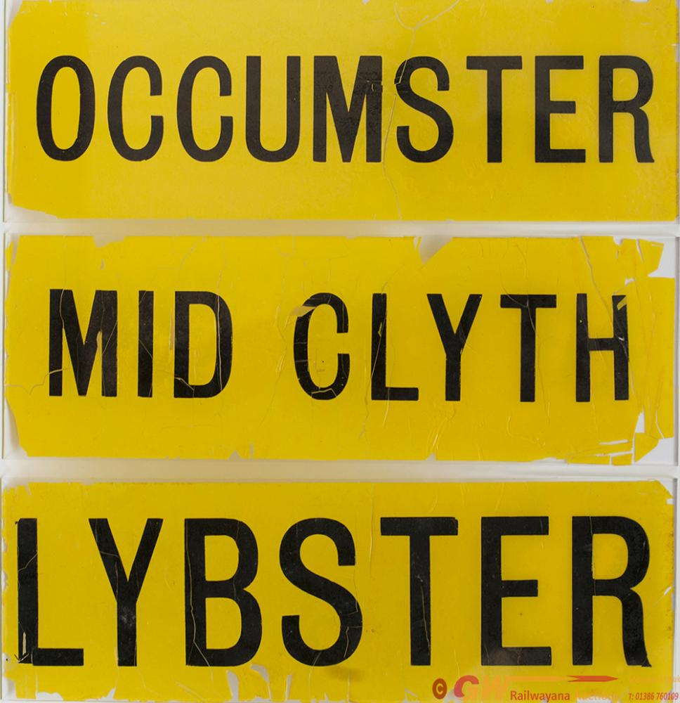 LMS Glass Lamp Tablets MID CLYTH, LYBSTER,