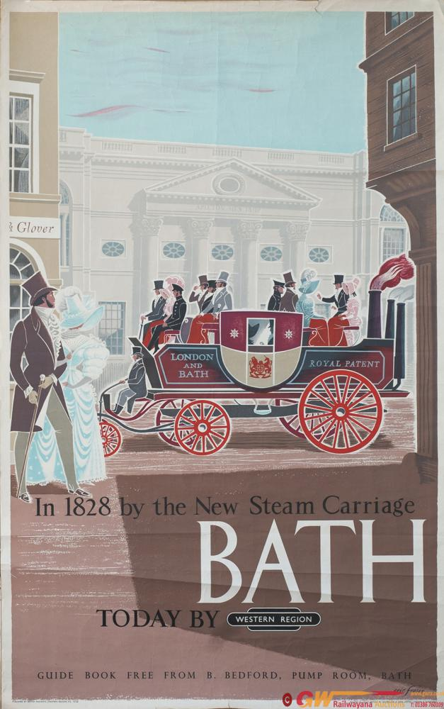 Poster BR(W) BATH TODAY BY WESTERN REGION By Eric