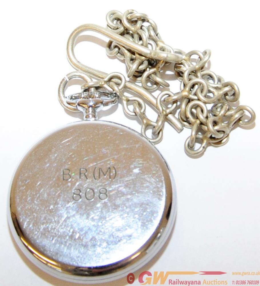 BR(M) Nickel Cased Guards Pocket Watch By Montine
