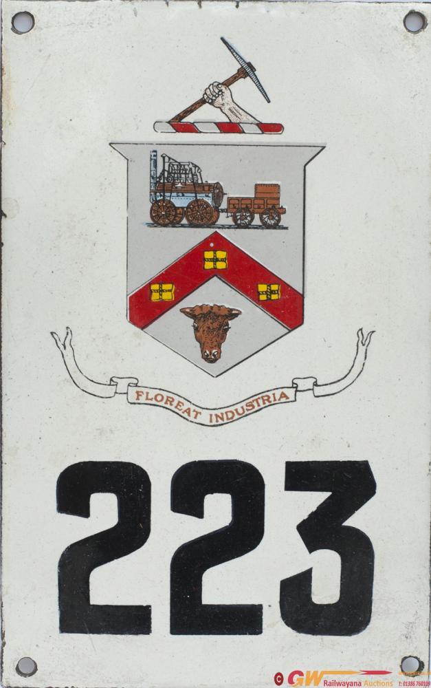 Darlington Tram/ Bus Corporation Enamel