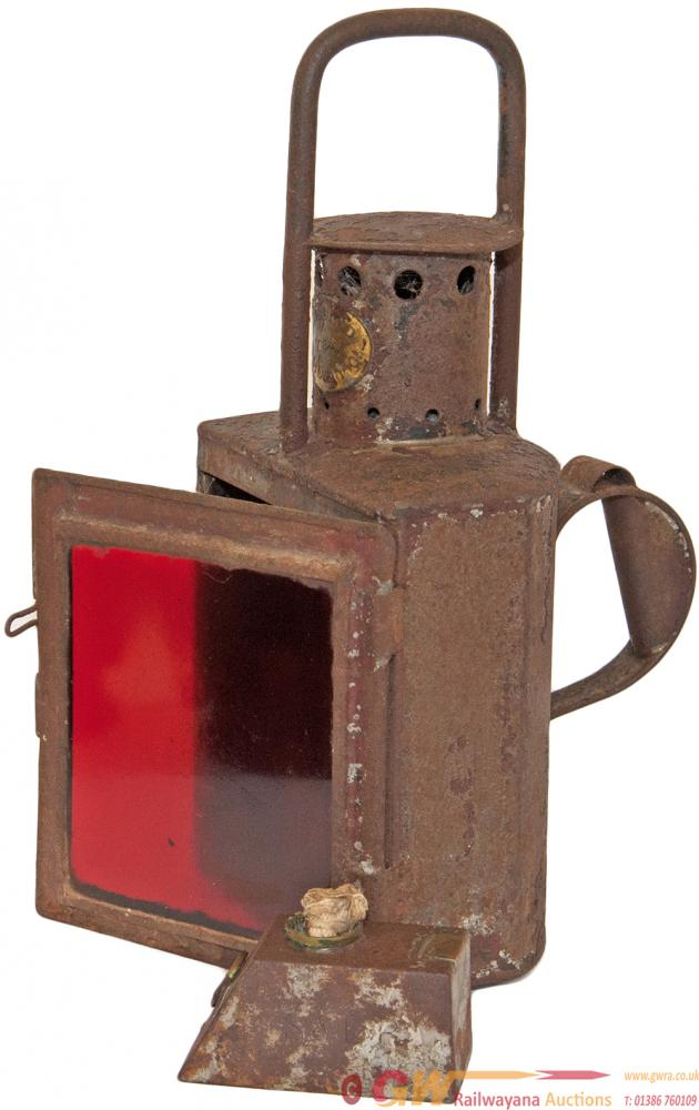 Somerset & Dorset Railway Handlamp With Early