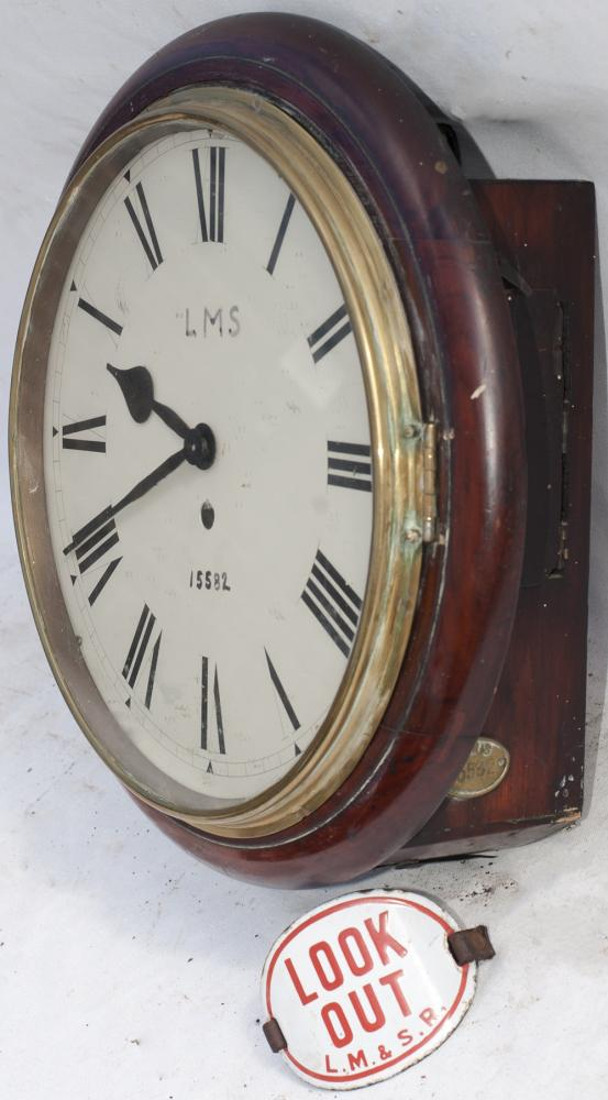 LMS CLOCK With Replaced Movement Modified For