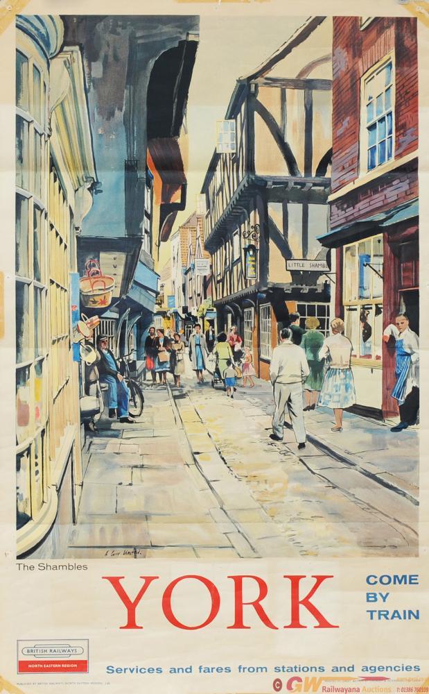 Poster British Railways 'York - The Shambles' By