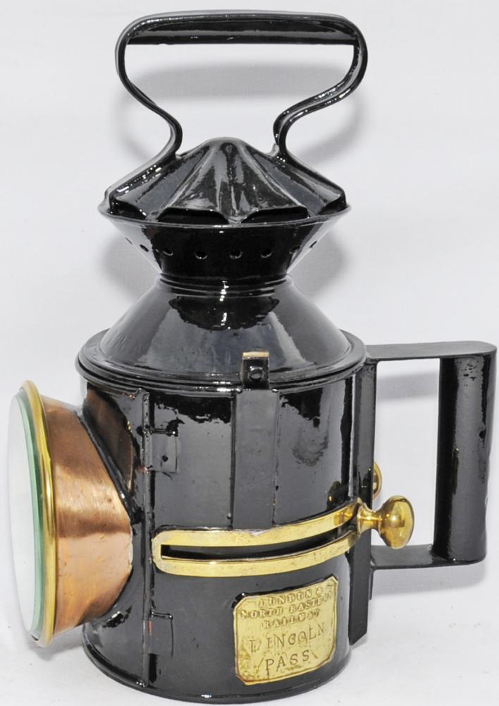 GER Handlamp With Original Location Stamped OULTON