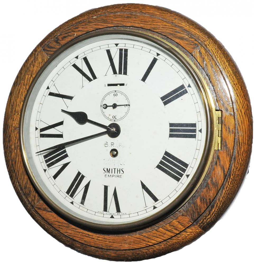 BR(M) 8 Smiths Clock No 22990 With Going Barrel