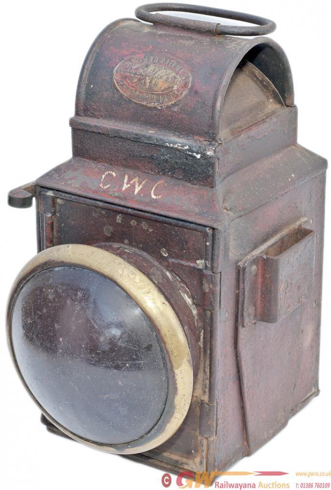 Midland Railway Tail Lamp Brass Plated Midland