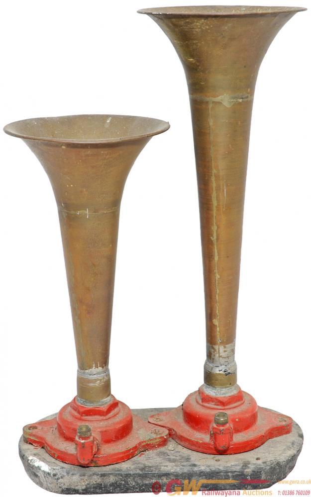 A Pair Of Desilux Air Horns From A BR Diesel