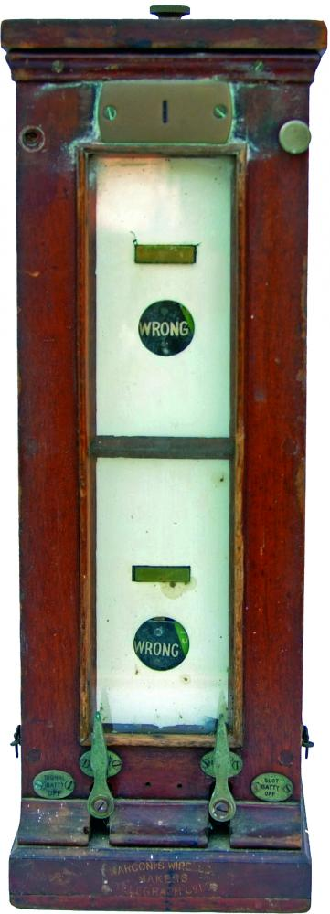 GWR Double Slotting Instrument With Brass Plate