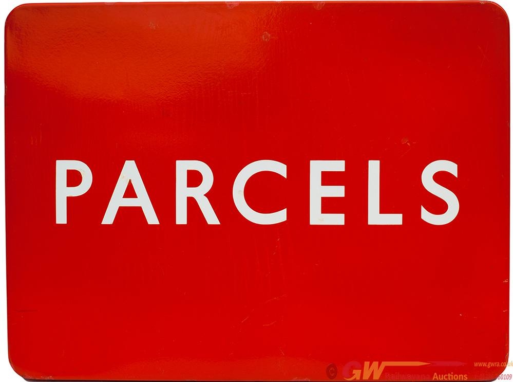 BR(NE) Enamel FF PARCELS Measuring 24in X 18in. In
