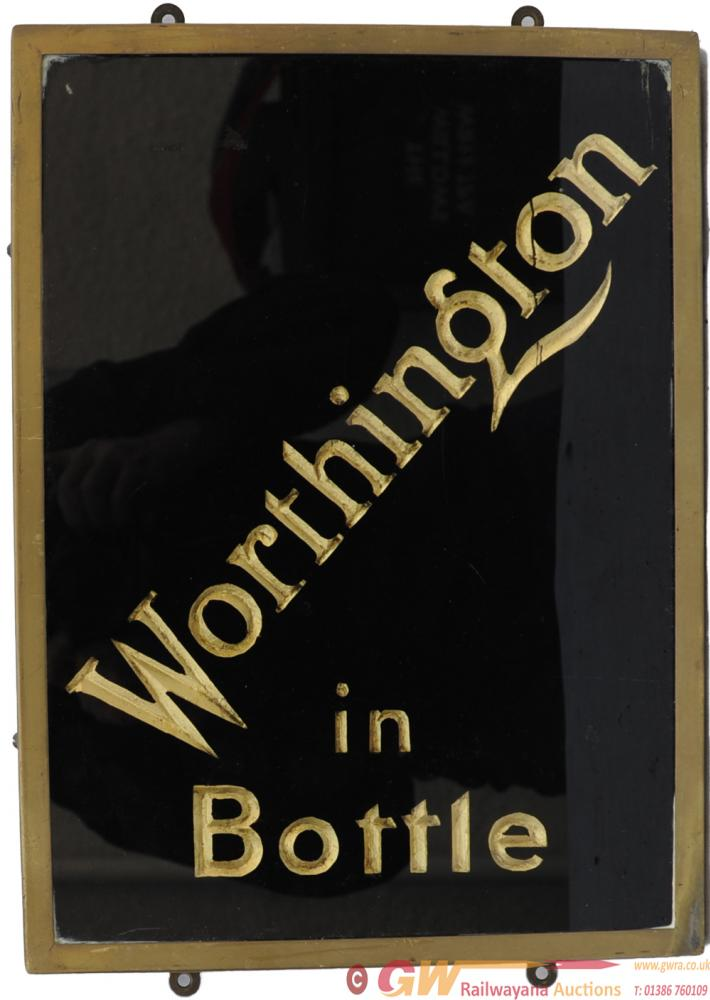 Brewery Advertising Glazed Sign 'Worthington In