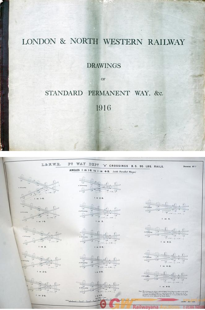 London & North Western Railway Large Book Of