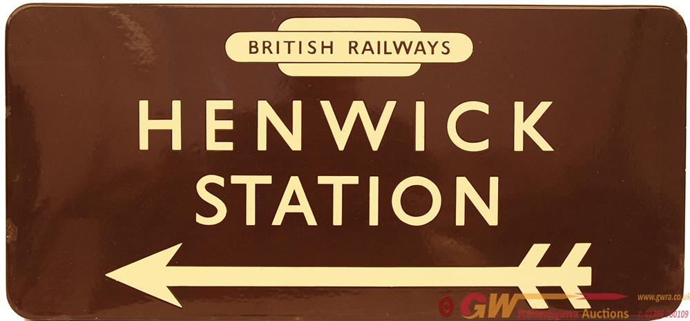 BR(W) Station Direction Sign With British Railways