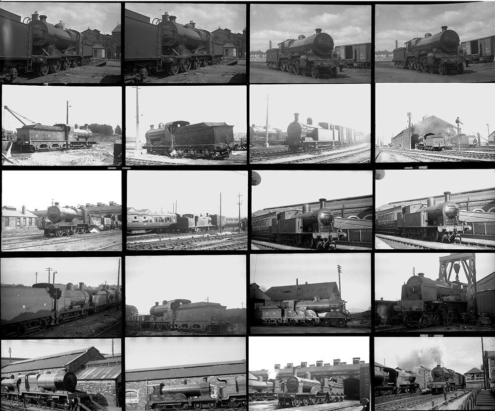 Approximately 100 35mm Negatives. Taken In 1950
