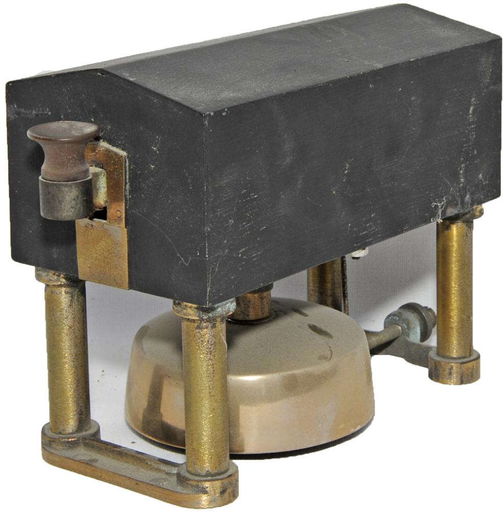 L&NWR 'Tombstone' Block Bell With Tapper With The