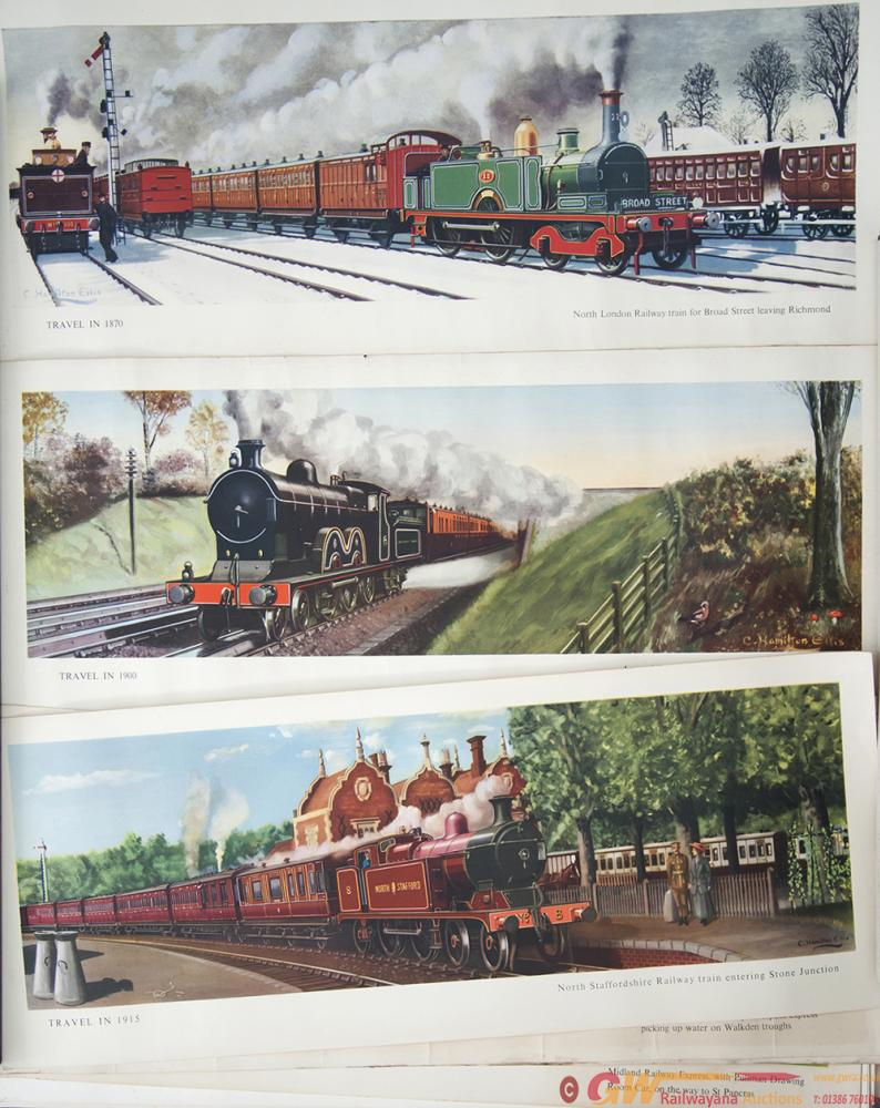 Carriage Prints x15, All Hamilton Ellis, From The