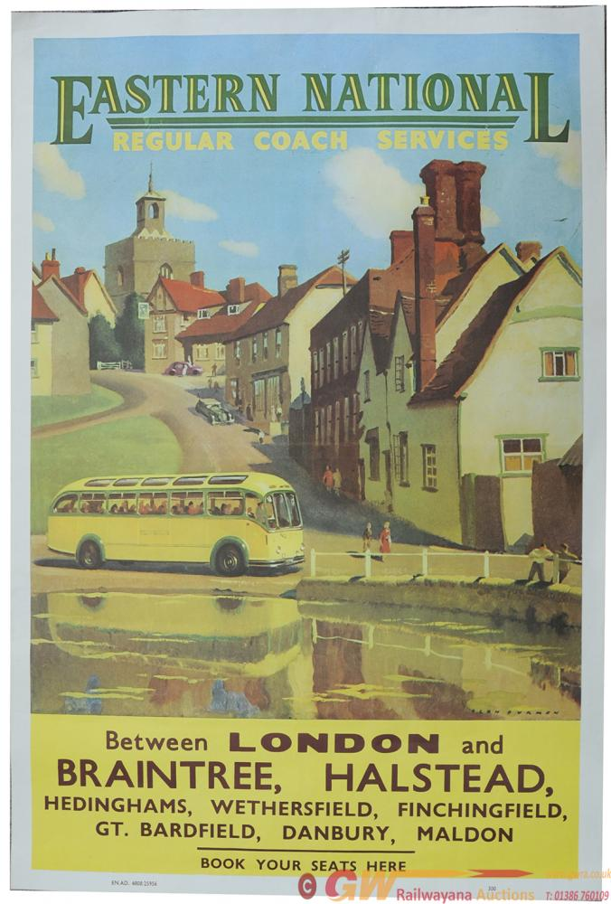 Poster 'Eastern National Regular Coach Services
