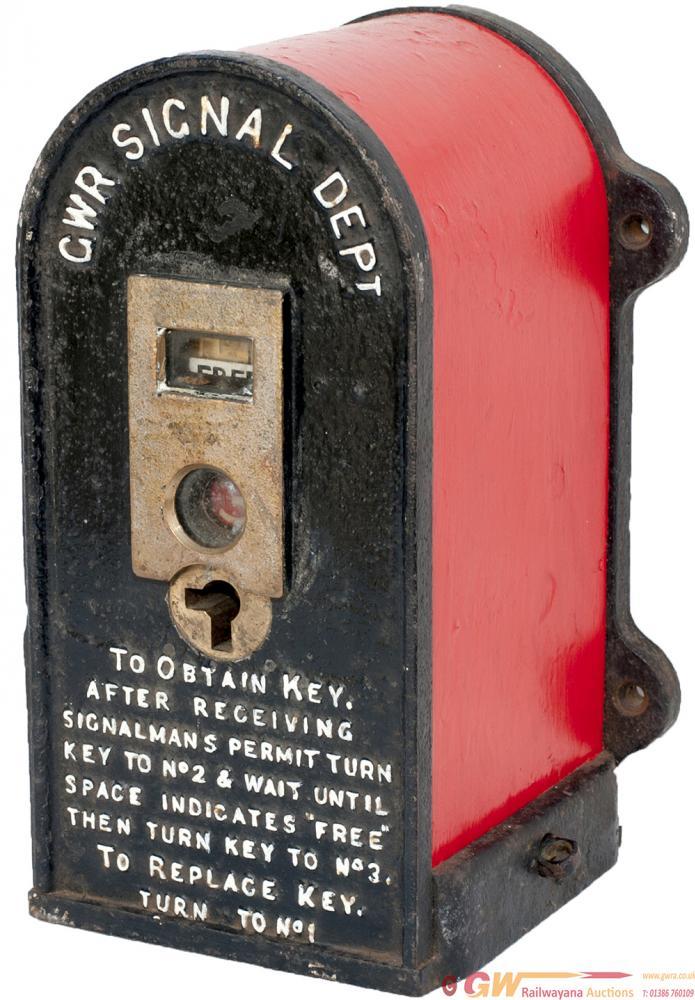 GWR Cast Iron Annett Key Instrument Face Marked