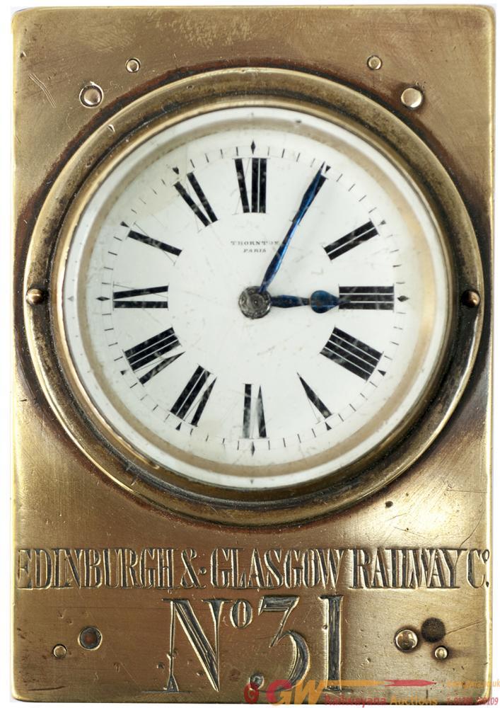 Edinburgh & Glasgow Railway Guards Watch No 31 In