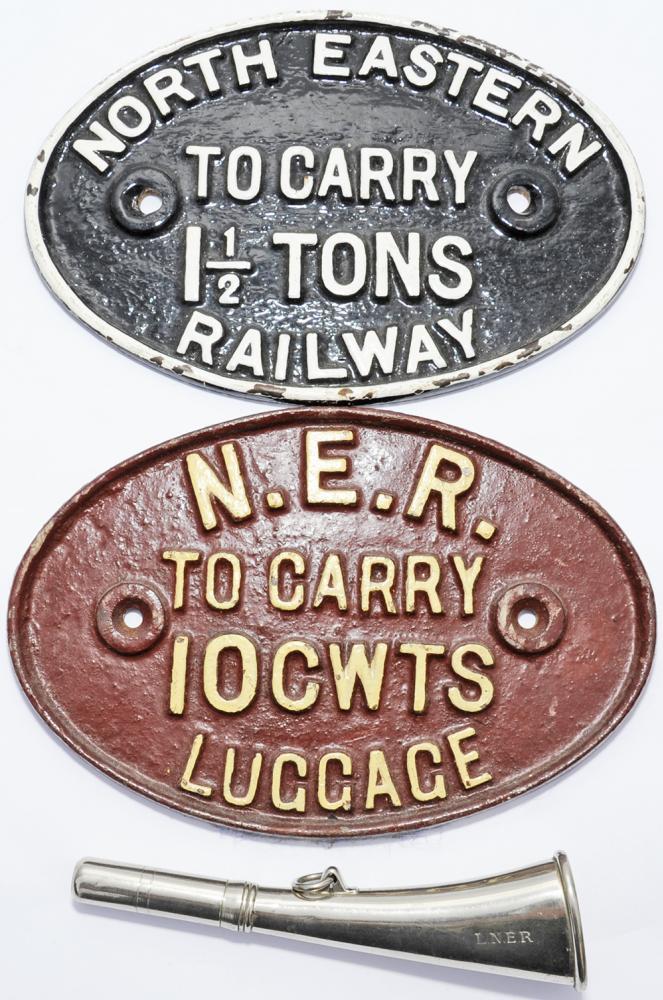 North Eastern Railway Fully Titled C/I Luggage
