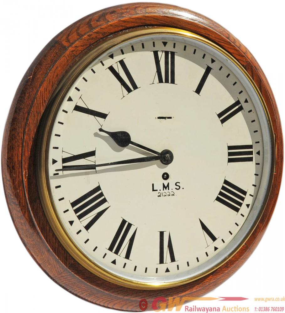 BR(M) LMS Clock No 21222 With 12 Inch Dial In
