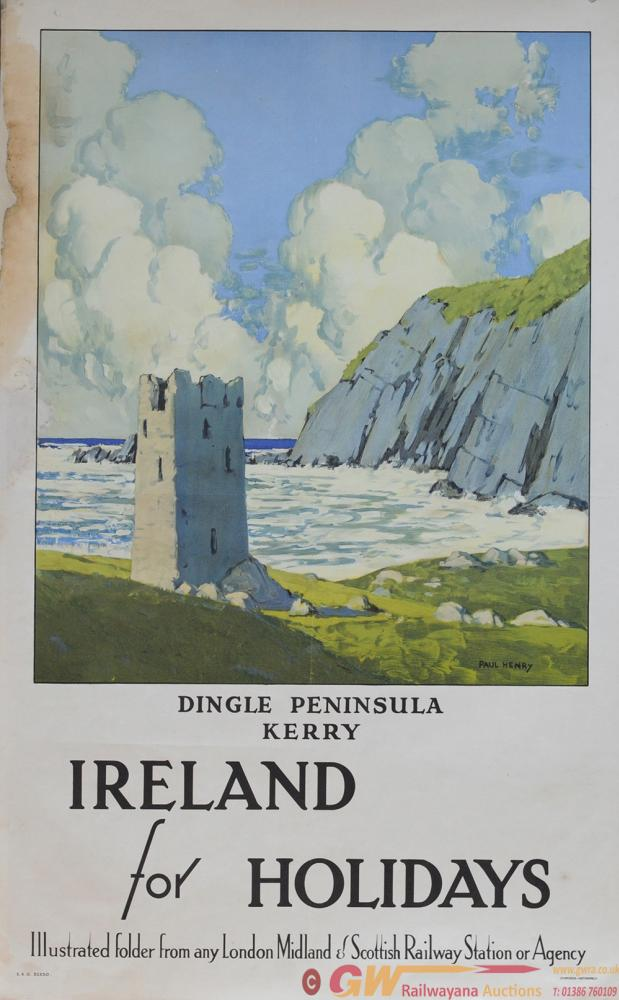Poster LMS 'Dingle Peninsular Kerry Ireland' By