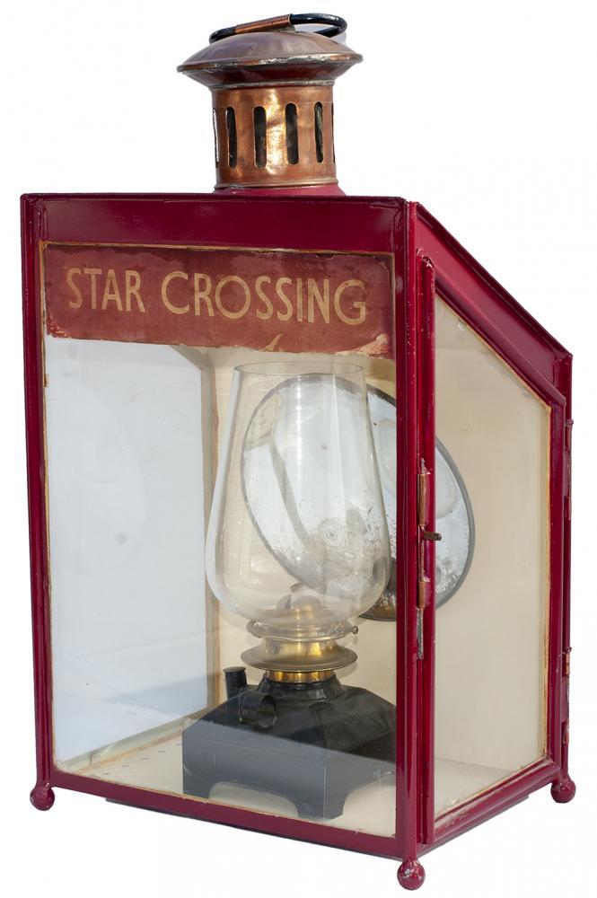 LMS Wall Mounted Platform Lamp With Original Paper