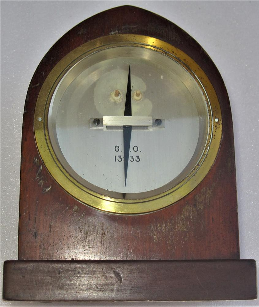 GPO Wooden Cased Galvanometer As Used With