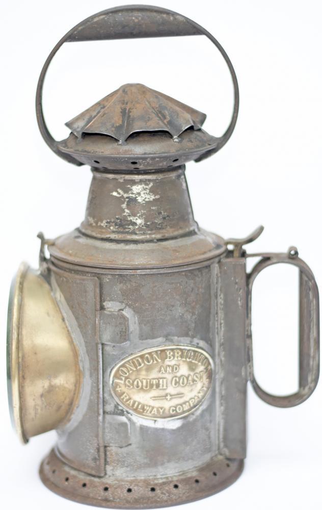 LBSCR 3 Aspect Handlamp Brass Plated LONDON