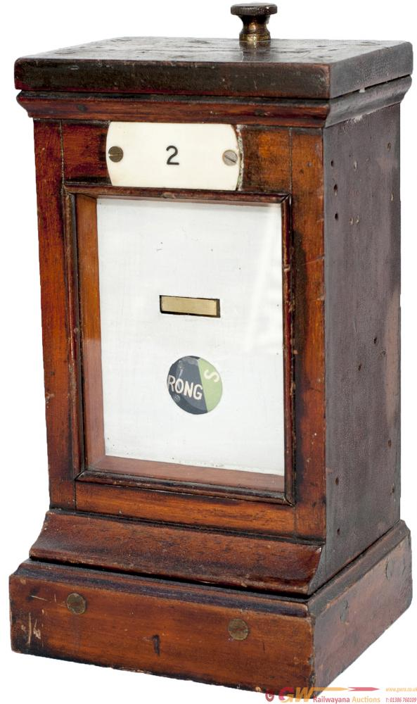 GWR Mahogany Cased Single Slot Repeater With