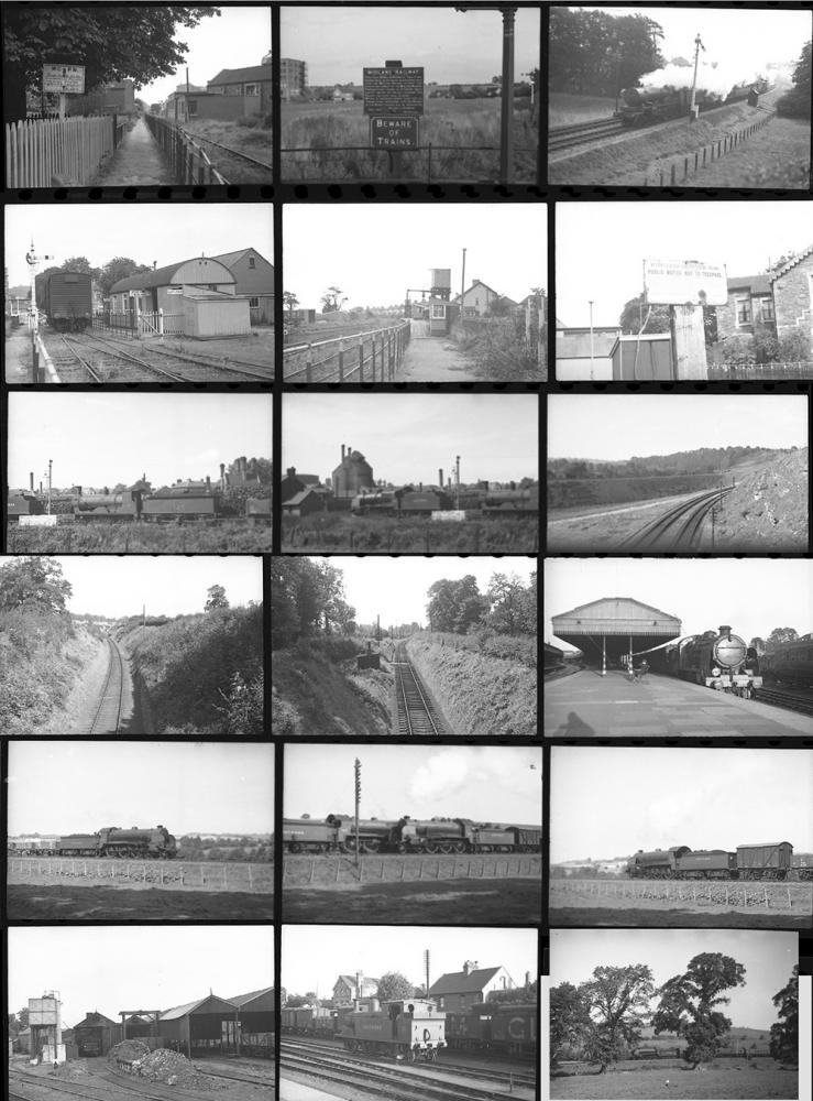 Quantity 24 35mm Negatives. Taken In 1940 Location