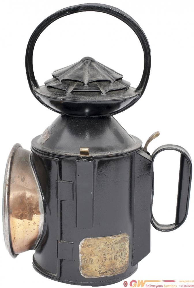 GNR 3 Aspect Handlamp With Double Pie Crust With
