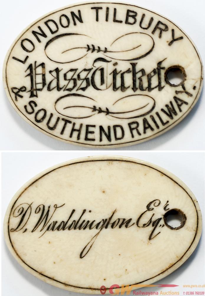 London Tilbury & Southend Railway Ivory