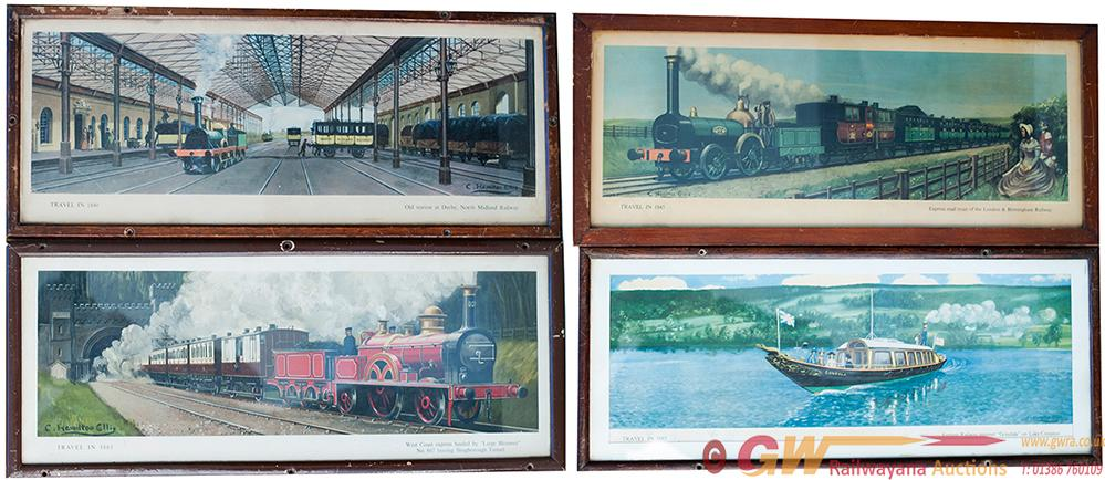 Carriage Prints x4. All From The Midland Region