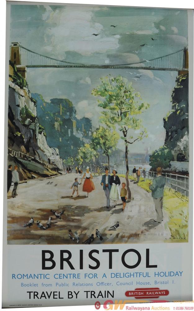 Poster British Railways 'Bristol Romantic Centre