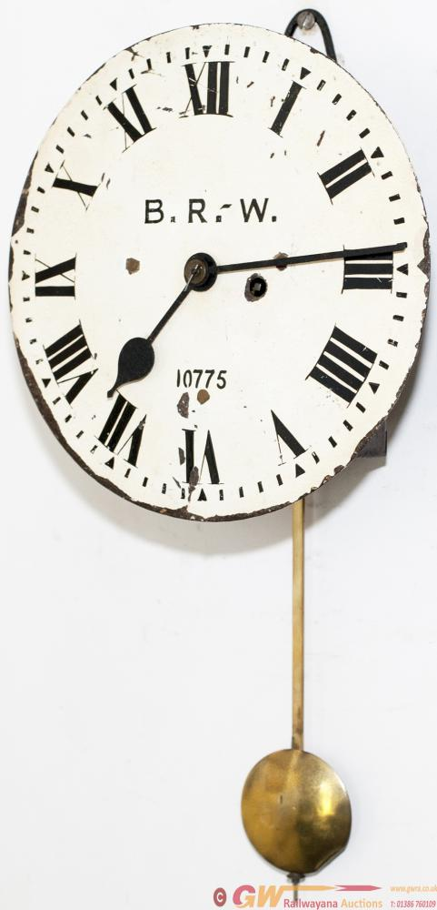 Midland Railway 10in Fusee Signal Box Clock