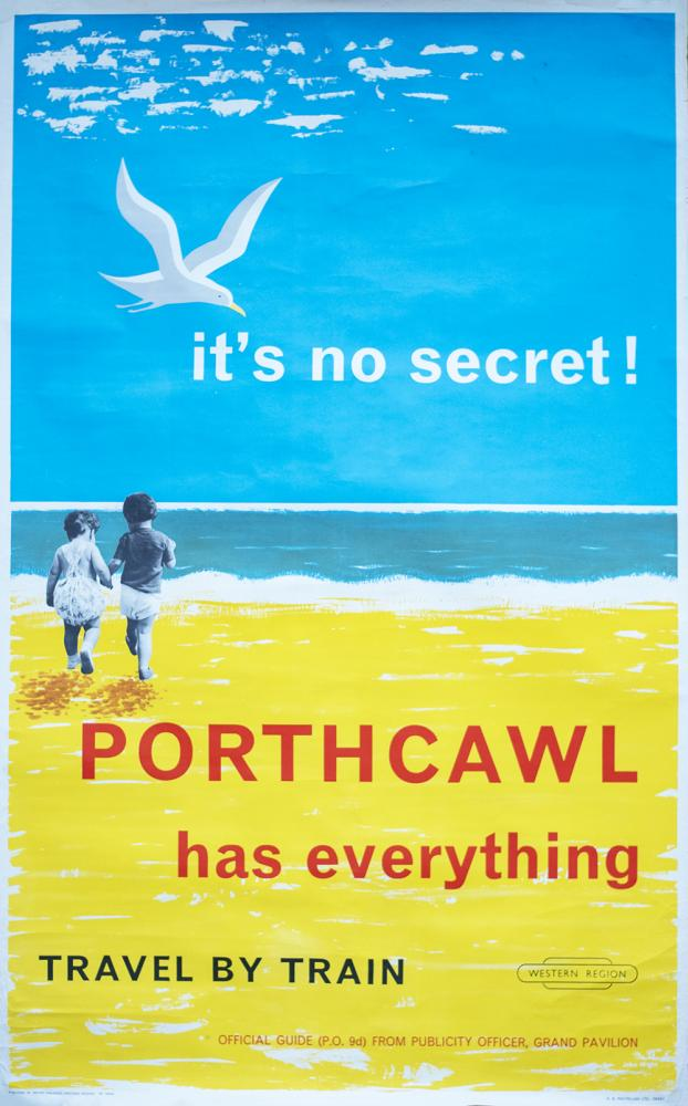 Poster BR(W) PORTHCAWL HAS EVERYTHING TRAVEL BY