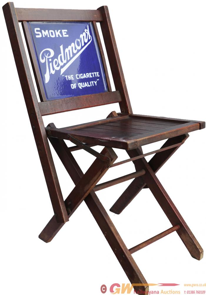 Small Folding Chair, Similar To A Deck Chair,