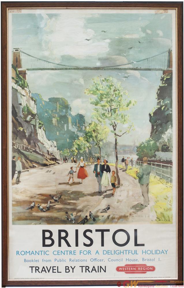 Poster BR(W) BRISTOL ROMANTIC CENTRE FOR A