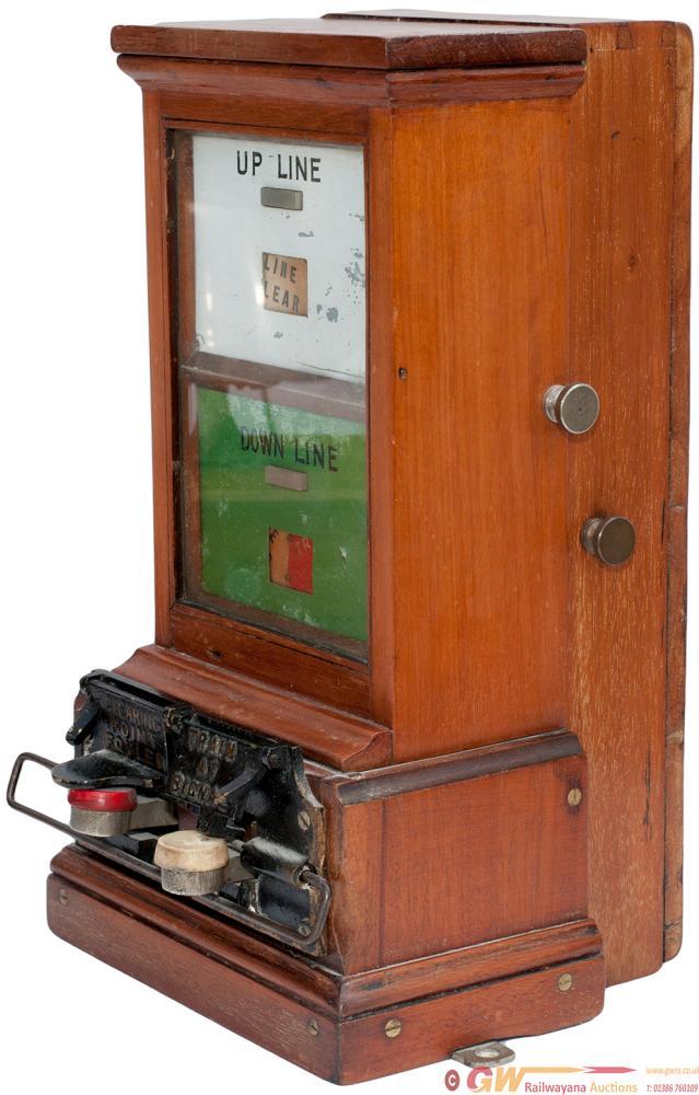 GWR Dual Line Spagnoletti Block Instrument