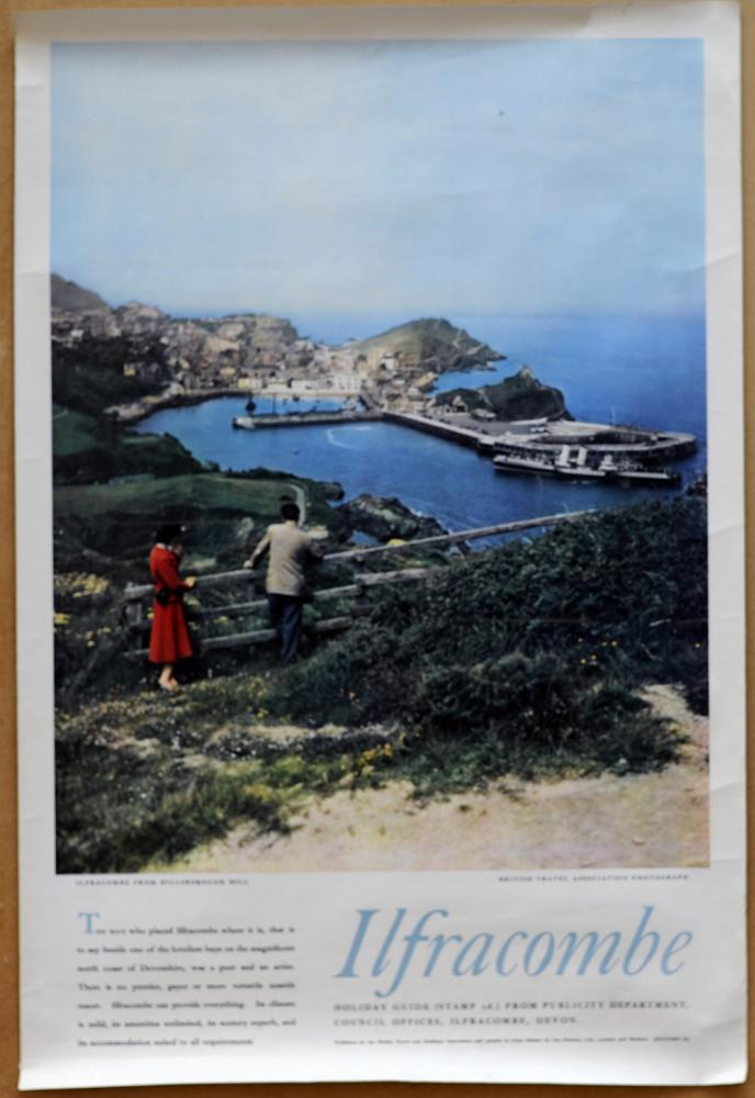 Two Double Crown Posters Ilfracombe From