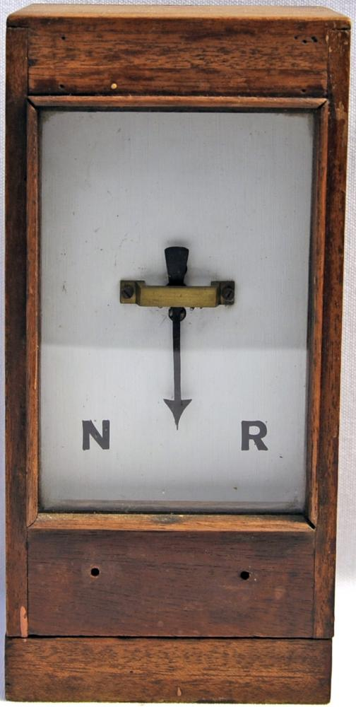 GWR Wood Cased Track Indicator With Front Dial