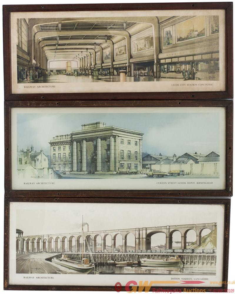 Carriage Prints x3, All From The London Midland