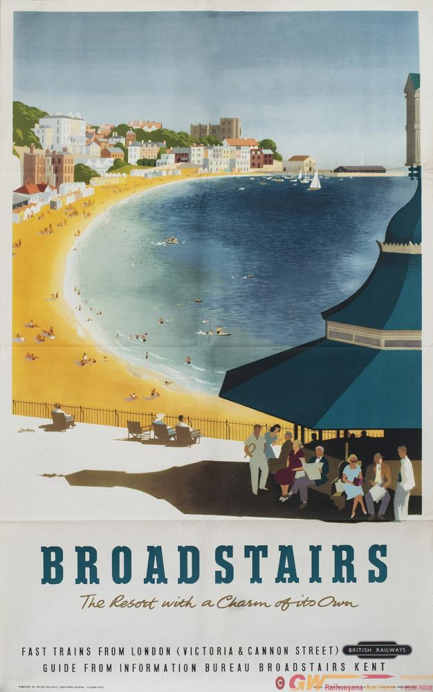 Poster BR(S) BROADSTAIRS THE RESORT WITH A CHARM