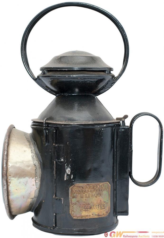 LNER Saucer Top 3 Aspect Handlamp Brass Plated