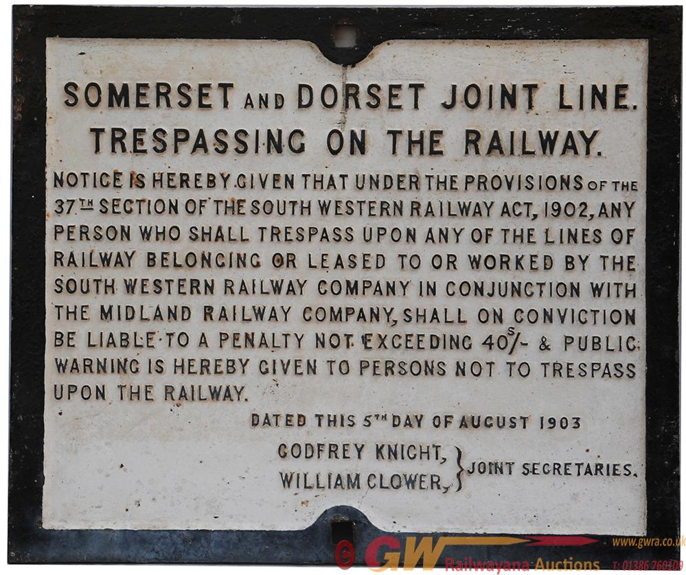 S&DJR Fully Titled Somerset And Dorset Joint Line