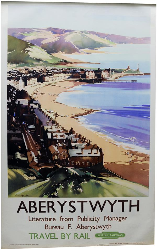 Poster, 'Aberystwyth' By Claude Buckle, D/R Size
