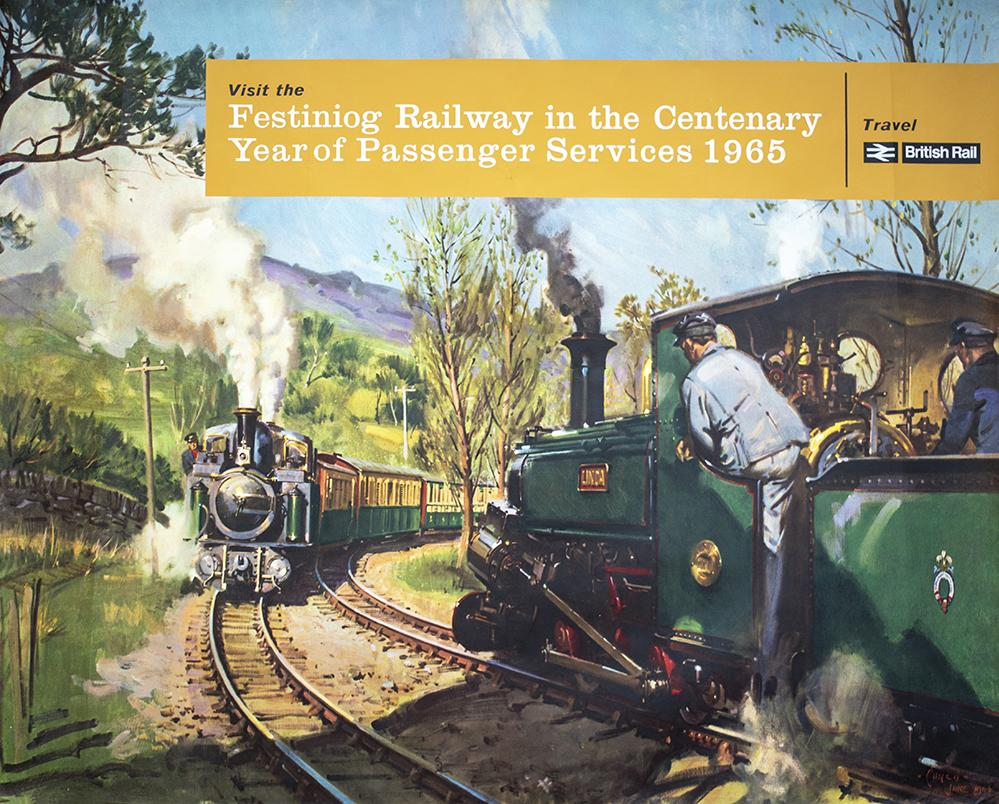 Poster BR(W) VISIT THE FESTINIOG RAILWAY IN THE